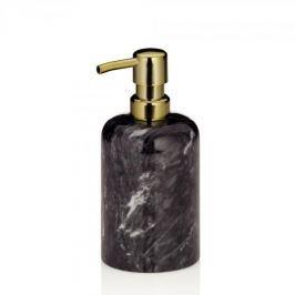 Dozownik do mydła w płynie marmurowy KELA LIRON CIEMNOBRĄZOWY