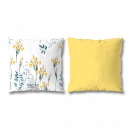 Poszewki na poduszki ozdobne bawełniane MISS LUCY TROPIC WIELOKOLOROWE 40 x 40 2 szt.