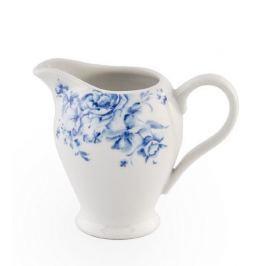 Serwis kawowy porcelanowy CERAMIKA TUŁOWICE KWADRAT FIORE BIAŁY na 12 osób (27 el.)