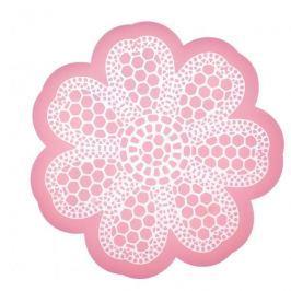 Szablon do dekoracji ciast silikonowy KITCHEN CRAFT SWEETLY DOES IT KORONKA RÓŻOWA 9 cm