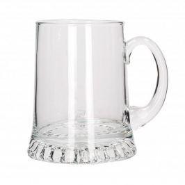 Kufel do piwa szklany EDWANEX GWIAZDA 1000 ml