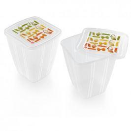 Pojemniki na żywność plastikowe SNIPS QUADRO 2 szt.
