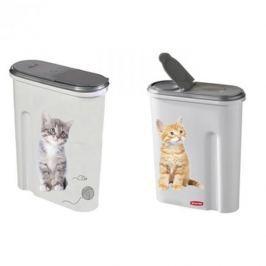 Pojemnik na karmę plastikowy CURVER CAT BIAŁY 4,5 l