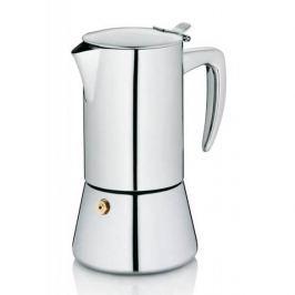 Kawiarka stalowa ciśnieniowa KELA LATINA - kafetiera na 4 filiżanki espresso