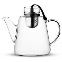 Dzbanek do herbaty szklany z zaparzaczem VIALLI DESIGN AMO CZARNY 1,5 l