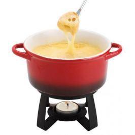 Zestaw do fondue porcelanowy MSC INTERNATIONAL GOURMET CZERWONY