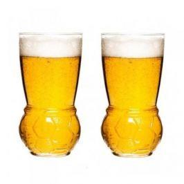Szklanki do piwa szklane SAGAFORM FOOTBALL 450 ml 2 szt.
