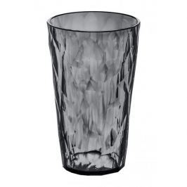 Kubek na zimne napoje plastikowy KOZIOL CRYSTAL SZARY 450 ml