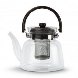 Dzbanek do herbaty szklany z zaparzaczem WINDSOR BRĄZOWY II 1,4 l