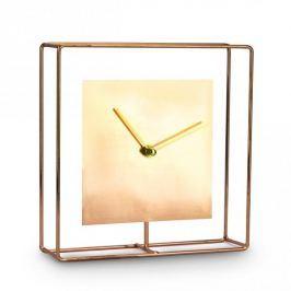Zegarek stojący metalowy DUO COPPER MIEDZIANY