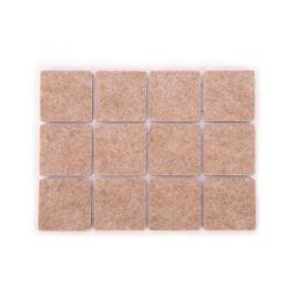 Podkładki pod meble samoprzylepne filcowe TESCOMA PRESTO SQUARE SZARE 2,5 x 2,5 cm 24 szt.