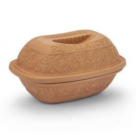 Garnek rzymski gliniany z pokrywką ROMERTOPF KLASYCZNY 1,5 l