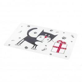Mata stołowa / Podkładka na stół plastikowa WESOŁY KOT MIX WZORÓW 28 x 43 cm