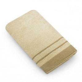 Ręcznik łazienkowy bawełniany MISS LUCY MADERA PIASKOWY 50 x 90 cm
