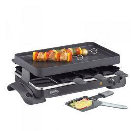Grill elektryczny raclette ceramiczny KUCHENPROFI GRANDE CZARNY 1200 W