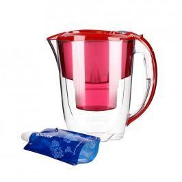 Dzbanek do filtrowania wody plastikowy AQUAPHOR MAXFOR AMETHYST CZERWONY 2,8 l