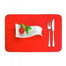 Mata stołowa / Podkładka na stół plastikowa KELA UNI CZERWONA 43,5 x 28,5 cm