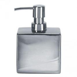 Dozownik do mydła w płynie porcelanowy KLEINE WOLKE GLAMOUR SREBRNY