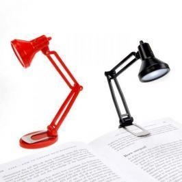 Lampa stołowa plastikowa MUSTARD TINY TIM CZERWONA