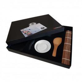 Zestaw do sushi ceramiczny KYOCERA SUSHI SET CZARNY (5 el.)