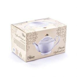 Dzbanek do herbaty i kawy porcelanowy ETIUDA BIAŁY 1,1 l
