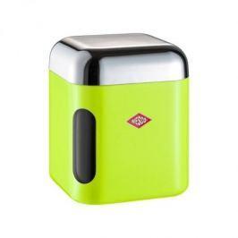 Pojemnik na herbatę plastikowy z okienkiem WESCO CANYON ZIELONY 1 l