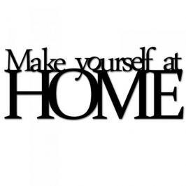 Napis na ścianę dekoracyjny DEKOSIGN MAKE YOURSELF AT HOME II