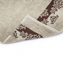 Ręcznik kąpielowy bawełniany MISS LUCY ALINDA KREMOWY 70 x 140 cm
