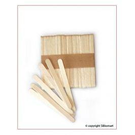 Zestaw 100 patyczków drewnianych SILIKOMART EASY CREAM 7 cm