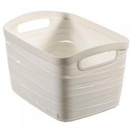 Koszyk plastikowy CURVER RIBBON L KREMOWY