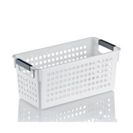 Pojemnik łazienkowy plastikowy KELA MIKA BIAŁY