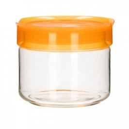 Słoik z pokrywką na ciastka szklany LUMINARC ORANGE POMARAŃCZOWY 0,5 l