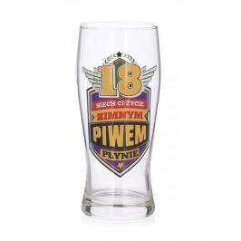 Szklanka do piwa PAN DRAGON 18 URODZINY 610 ml
