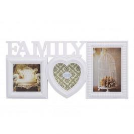Ramka na zdjęcia plastikowa MULTIRAMA FAMILY BIAŁA 20 x 40 cm