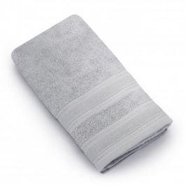 Ręcznik łazienkowy bawełniany MISS LUCY MARLA SZARY 50 x 90 cm