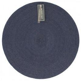 Mata stołowa / Podkładka na stół plastikowa JACKIES BAY PASTEL GRANATOWA 38 cm