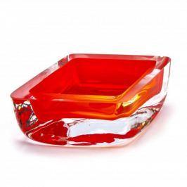 Miska / Salaterka szklana KROSNO GŁADKA POMARAŃCZOWA 0,15 l