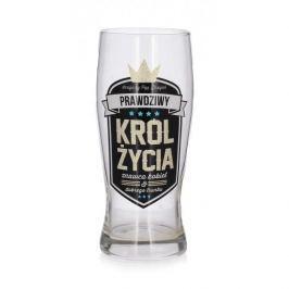 Szklanka do piwa PAN DRAGON ROYAL KRÓL ŻYCIA 610 ml