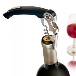 Korkociąg / Otwieracz do wina metalowy VACU VIN KELNER CZARNY