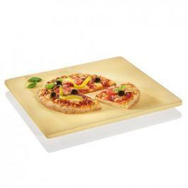 Kamień do pizzy kordierytowy na nóżkach KUCHENPROFI DELIZIOSO BEŻOWY 40,5 x 35,5 cm