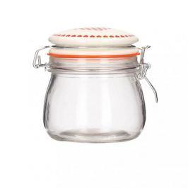 Słoik na miód szklany SWEET LOVE 0,5 l