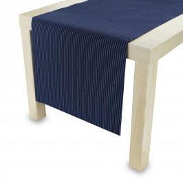Bieżnik na stół bawełniany WHALE GRANATOWY 40 x 140 cm