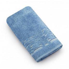 Ręcznik kąpielowy bawełniany MISS LUCY MARTYNIKA NIEBIESKI 70 x 140 cm
