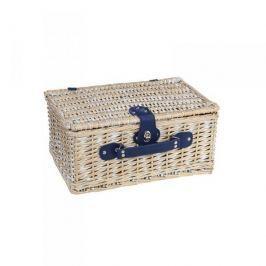 Koszyk piknikowy wiklinowy CILIO MULTI PIASKOWY 46 x 31 cm