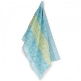 Ręcznik kuchenny bawełniany KELA CARLA BŁĘKITNA 70 x 50 cm