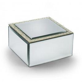 Szkatułka na biżuterię szklana DUO CRYSTAL