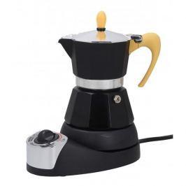 Kawiarka elektryczna aluminiowa ciśnieniowa GAT 9ISSIMA YELLOW - kafetiera na 4 filiżanki espresso