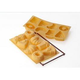 Forma do pieczenia 8 muffinek i babeczek silikonowa SILIKOMART GOOD MORNING