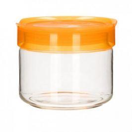 Słoik z pokrywką szklany LUMINARC ORANGE POMARAŃCZOWY 0,5 l