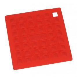 Podkładka pod garnek silikonowa SILIKOMART SQUARE SMALL RED 17,5 x 17,5 cm